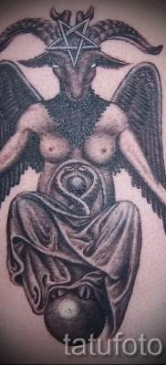 Тату козел – фото готовой татуировки от 10012016 18