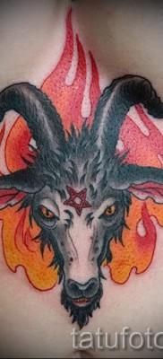 Тату козел – фото готовой татуировки от 10012016 29