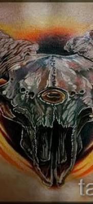 Тату козел – фото готовой татуировки от 10012016 40