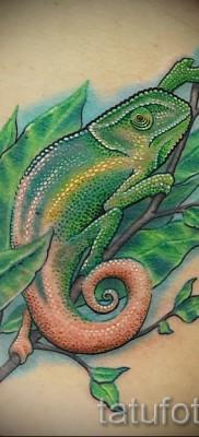 Тату хамелеон – фото пример для статьи про значение 14012016 1
