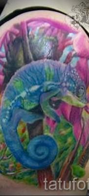 Тату хамелеон – фото пример для статьи про значение 14012016 24