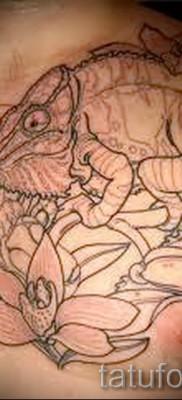 Тату хамелеон – фото пример для статьи про значение 14012016 28