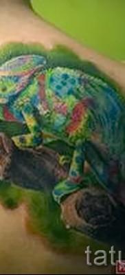 Тату хамелеон – фото пример для статьи про значение 14012016 33