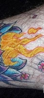 тату вишня в огне – примеры татуировки на фото от 30012016 3