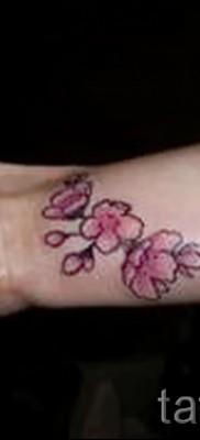 тату вишня на запястье – примеры татуировки на фото от 30012016 2