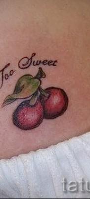 тату вишня на попе – примеры татуировки на фото от 30012016 3