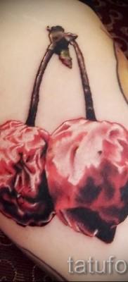 тату вишня на попе – примеры татуировки на фото от 30012016 5