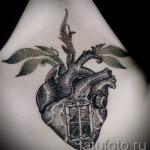 тату под грудиной у девушки - примеры татуировок на фотографии от 16012016 8