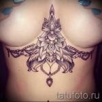 тату под грудиной фото - примеры татуировок на фотографии от 16012016 1