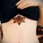 тату под грудиной фото - примеры татуировок на фотографии от 16012016 3