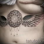 тату под грудиной фото - примеры татуировок на фотографии от 16012016 43