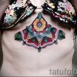 тату под грудиной фото - примеры татуировок на фотографии от 16012016 50