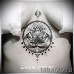 тату под грудиной фото - примеры татуировок на фотографии от 16012016 53