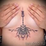тату под грудиной фото - примеры татуировок на фотографии от 16012016 6