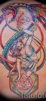 тату уроброс – фото готовой татуировки от 09012016 19
