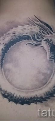 тату уроброс – фото готовой татуировки от 09012016 25