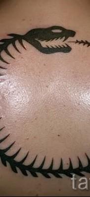 тату уроброс – фото готовой татуировки от 09012016 33