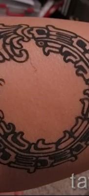тату уроброс – фото готовой татуировки от 09012016 37