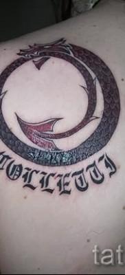 тату уроброс – фото готовой татуировки от 09012016 39