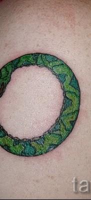 тату уроброс – фото готовой татуировки от 09012016 5