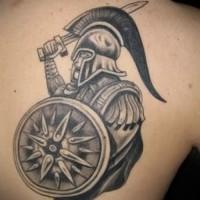 Значение тату гладиатор