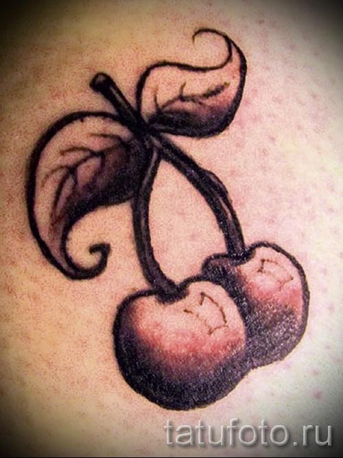 black cherry tattoo 2