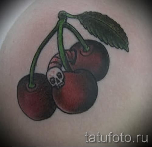 black cherry tattoo 3