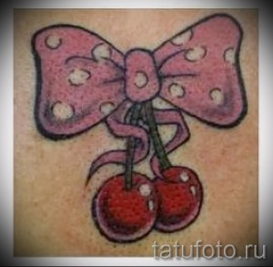 tattoo cherry on the buttock - a tattoo on photo examples from 30012016 1