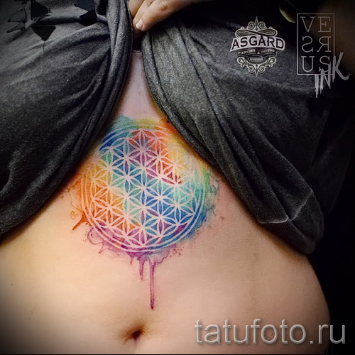 tattoo under the sternum pictures - examples of tattoos on photos of 16012016 57