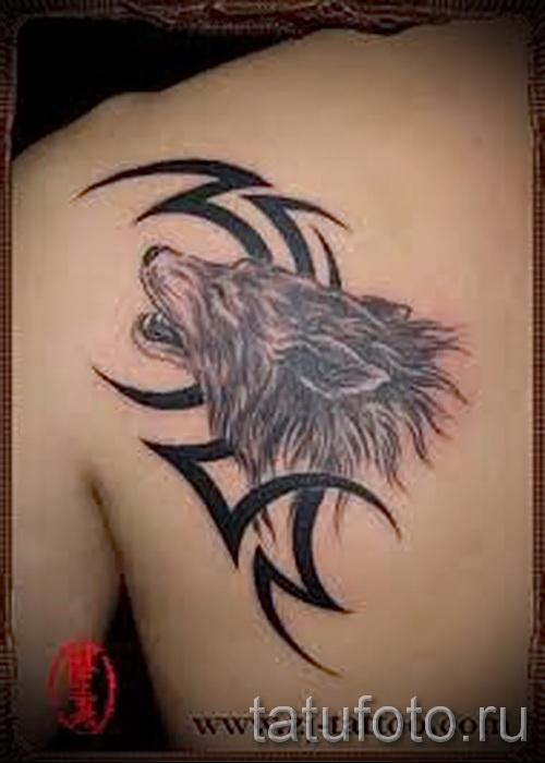 волк узор тату - фото пример для выбора от 28022016 1
