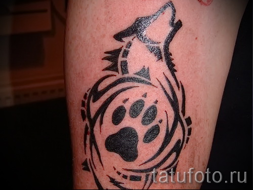 волк узор тату - фото пример для выбора от 28022016 8