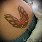 жар птица на бедре тату - примеры готовых тату в фотографиях 01022016 2