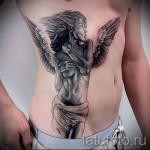 крылья на ребрах тату - фотография с примером татуировки от 03022016 2