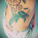 ловец снов тату на бедре - примеры готовых тату в фотографиях 01022016 4