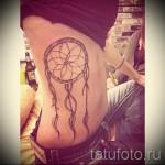 ловец снов тату на ребрах - фотография с примером татуировки от 03022016 3