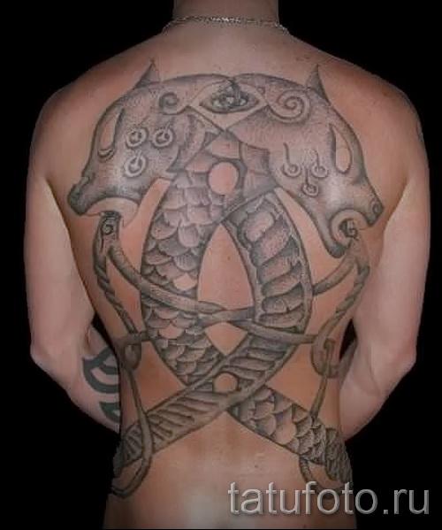 скандинавские узоры тату - фото пример для выбора от 28022016 2