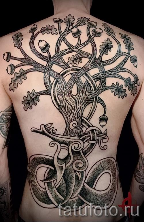 скандинавские узоры тату - фото пример для выбора от 28022016 4