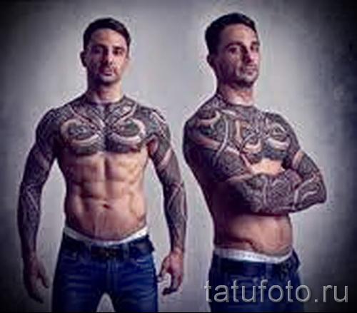 скандинавские узоры тату - фото пример для выбора от 28022016 6