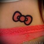 тату бантики на бедрах - примеры готовых тату в фотографиях 01022016 5