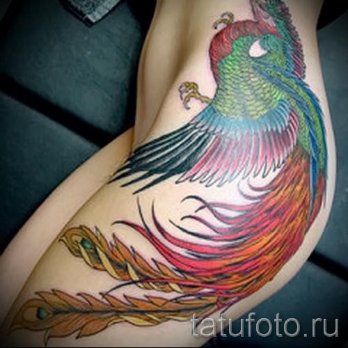 тату на бедре для девушек фото - примеры готовых тату в фотографиях 01022016 4