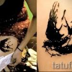 тату на бедре ласточка - примеры готовых тату в фотографиях 01022016 2