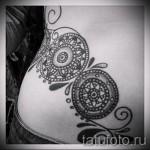тату на бедре мандала - примеры готовых тату в фотографиях 01022016 2
