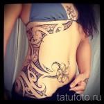 тату на бедре у девушек - примеры готовых тату в фотографиях 01022016 5