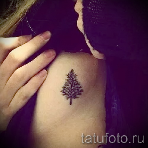 тату на ребрах женские - фотография с примером татуировки от 03022016 4