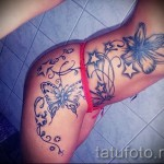 тату на ребрах звезда - фотография с примером татуировки от 03022016 3