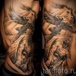 тату на ребрах мужские - фотография с примером татуировки от 03022016 3