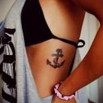 тату на ребрах у девушек фото - фотография с примером татуировки от 03022016 5