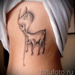 тату на ребрах у девушек фото - фотография с примером татуировки от 03022016 9