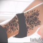 тату розы на бедре - примеры готовых тату в фотографиях 01022016 003