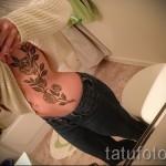 тату розы на ребрах - фотография с примером татуировки от 03022016 3